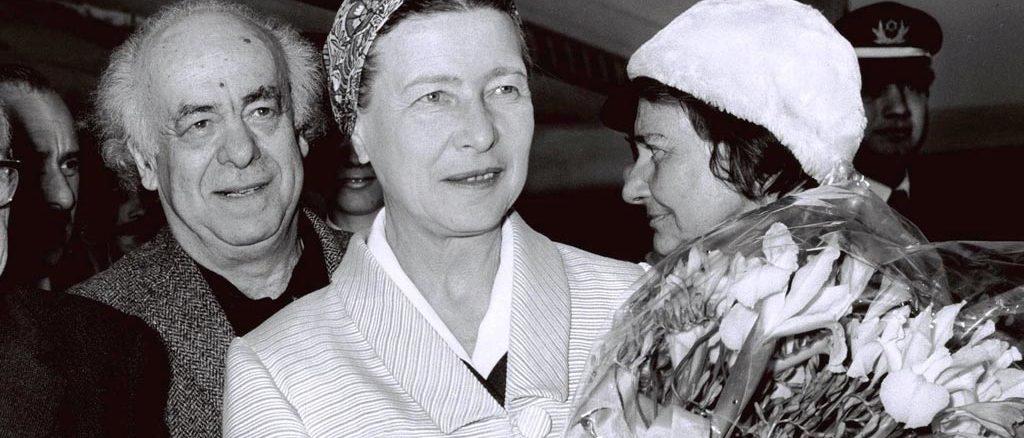 """""""Ela foi convencida pelas feministas"""", diz filha de Simone de Beauvoir"""
