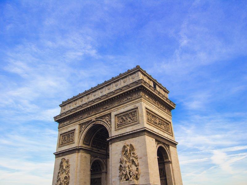 Ingressos antecipados para Paris Torre Eiffel Arco do Triunfo